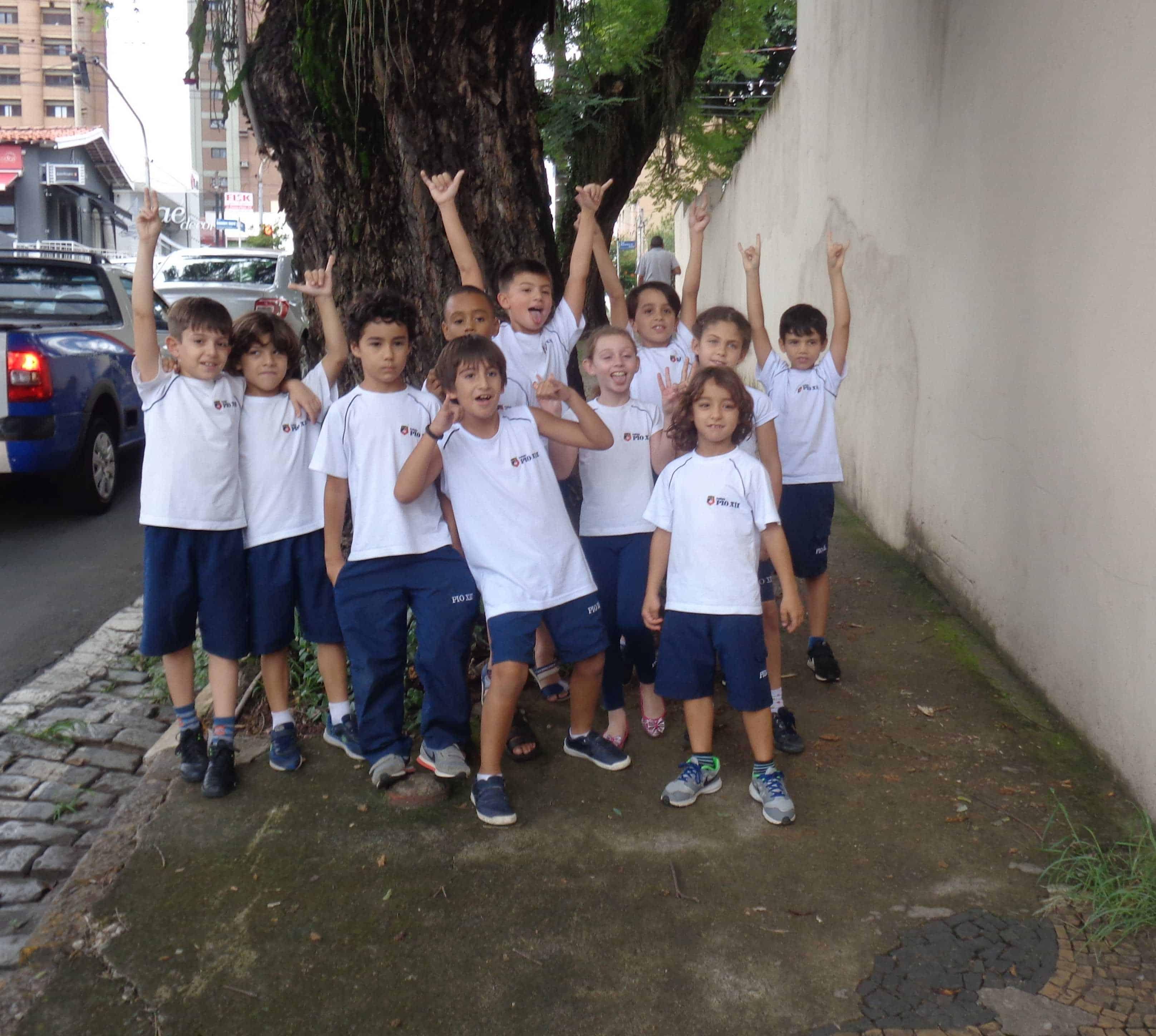 3ºs anos – Passeio no quarteirão