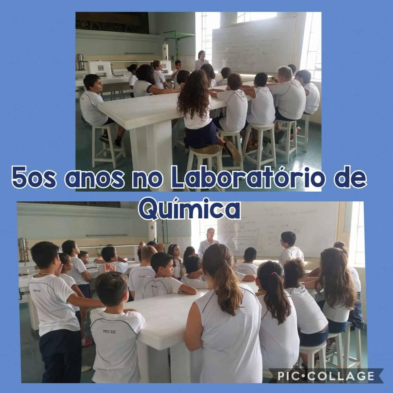 5ºS ANOS NO LABORATÓRIO DE QUÍMICA
