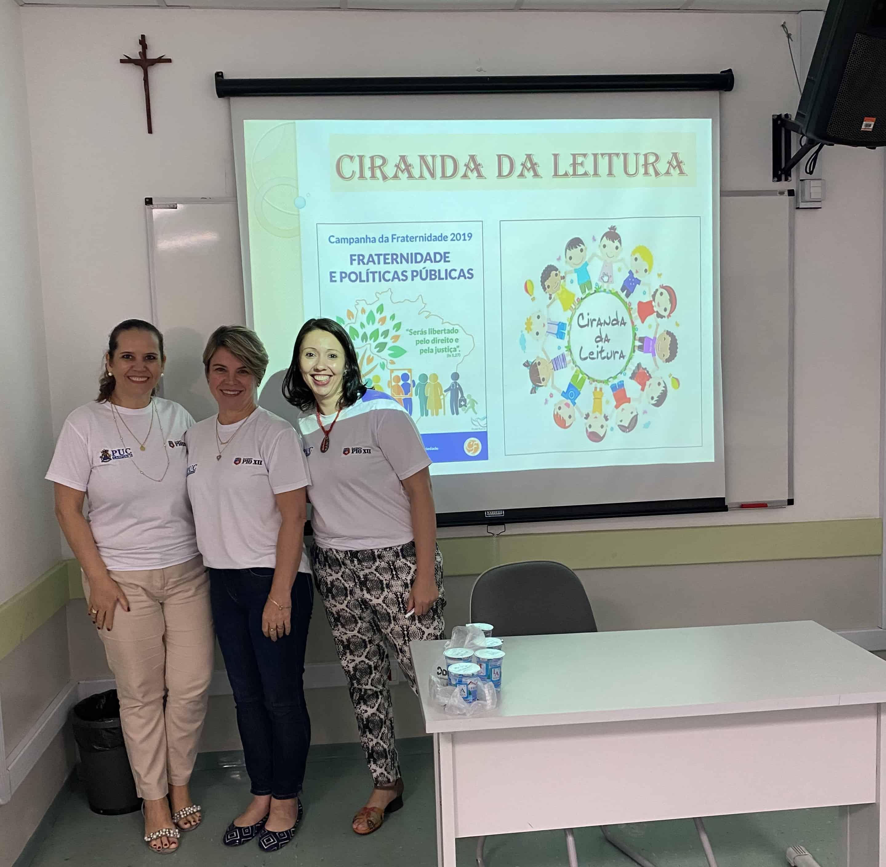 PROFESSORES DO PIO XII NO XII SEMINÁRIO DE EDUCAÇÃO DA PUC-CAMPINAS